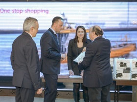 PRESS RELEASE: NBS Maritime and JRC – Alphatron Marine marked their cooperation at an event for the maritime sector in Varna