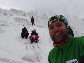 Dr. Skatov's expedition to Lhotse and Everest, backed up by NBS Communications