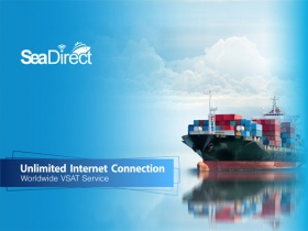 SEADIRECT - THE NEW  VSAT SERVICE