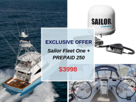 Exclusive offer – Sailor Fleet One + Prepaid 250